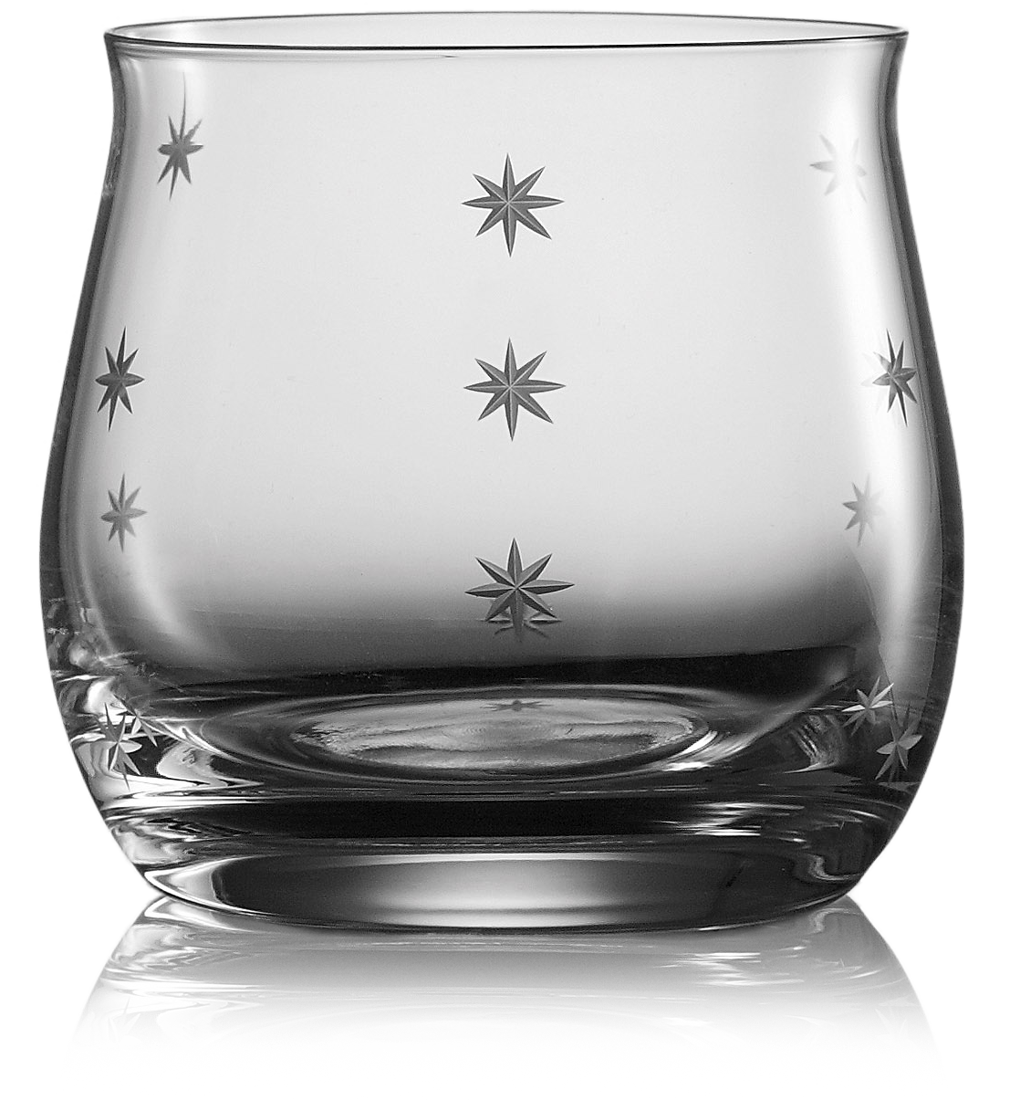 Bohemia Crystal Glass Sklenice na whisky STARDUST 290ml, 6ks