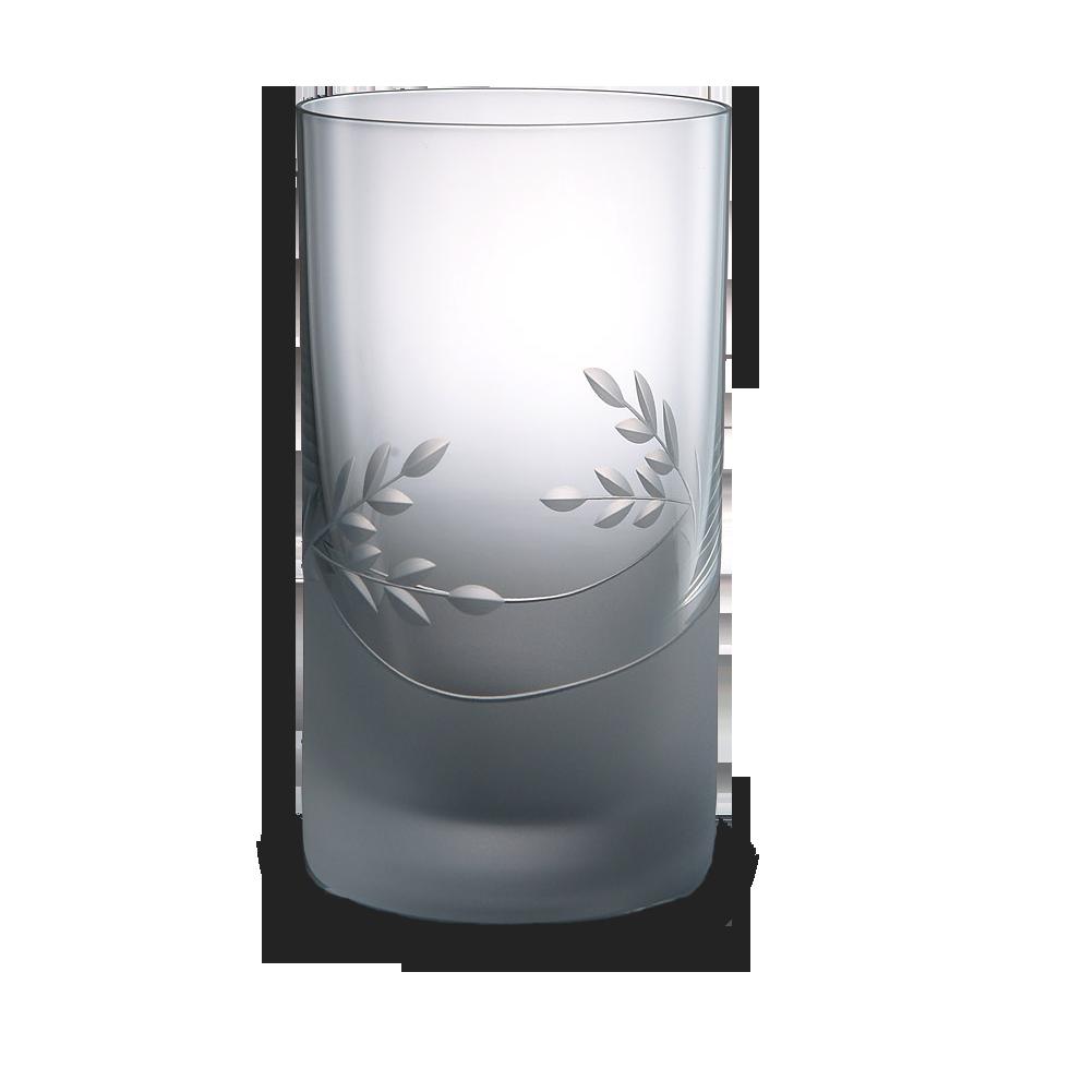 Broušená velká sklenice na vodu