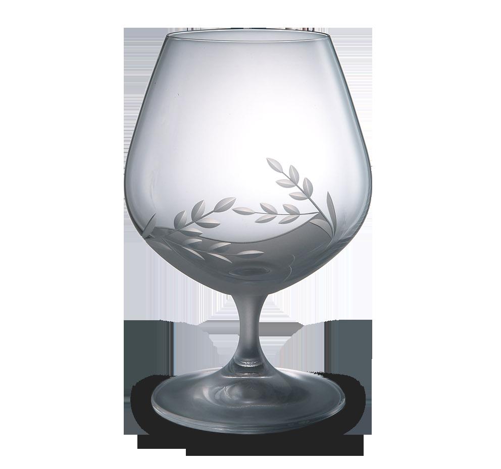 Broušená sklenice na brandy