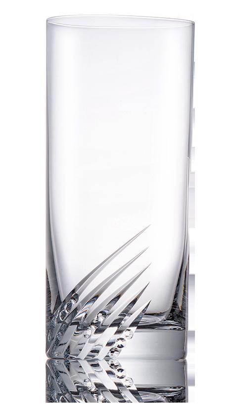 Broušené sklenice na vodu Savana Diamante