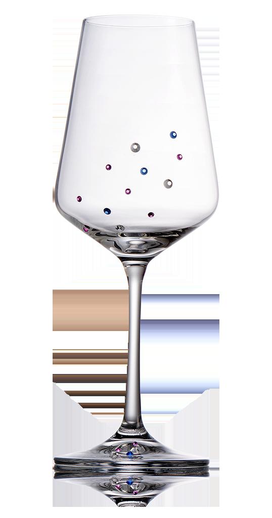 Bohemia Crystal Glass sklenice na víno Preciosa 350ml, 2ks
