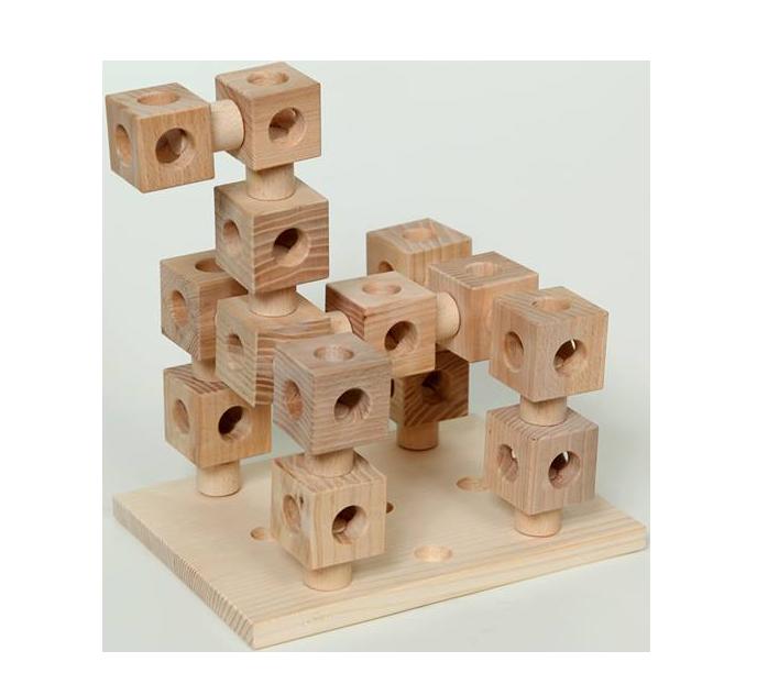 COSYK dětská stavebnice ze dřeva